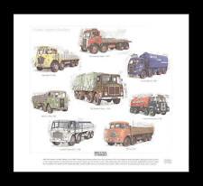 British Lorries Foden AEC Seddon Scammel ERF Art Print