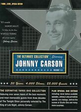 Ultimate Johnny Carson Collection Volumes 1-3 (3-DVD Box Set) NEW & SEALED