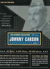 Johnny Carson - The Ultimate Collection (DVD, 2003, 3-Disc Set) New & Sealed!