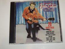 EDDIE COCHRAN *RARE CD  ' THE SINGLES ALBUM ' 1995 EXC