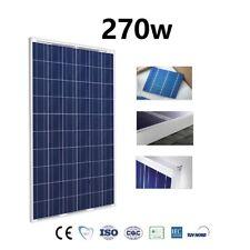 Placa Solar 270w Panel Solar 24v Fotovoltaico Policristalino