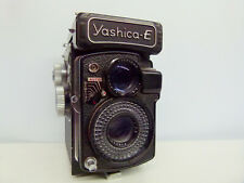 Yashica-E 6x6 medium Format TLR Camera+Case EXCELLENT++RARE STUNNING!