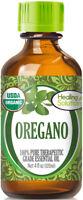 Organic Oregano Essential Oil (100% Pure - USDA Certified Organic)