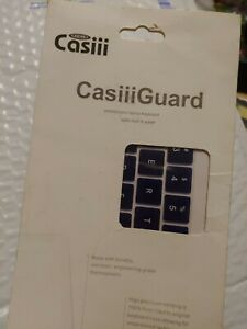 CASIII GUARD PROTECTION FOR LAPTOP KEYBOARDS~PROTECTS FROM DUST,SPILLS Navy Blue