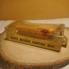 New listing Vintage Fred Arbogast Musky Jitterbug. Very Rare, mint condition in the box