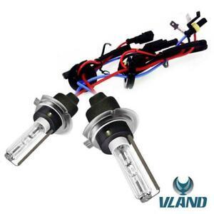 VLAND H7 Headlight HID Xenon Bulbs Conversion Kit 55W 6000K White light 1 Pair