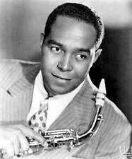 OLD MUSIC PHOTO Jazz Musician Charlie Parker Poses With His Saxophone