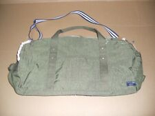 "New ABERCROMBIE & FITCH Nylon Fatigue Duffle Bag Size 22"" x 11"" x 11"" !!!"