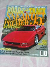 Vintage Road & Track Magazine, Sneak Preview 1995,  --- Sept 1994