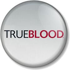 "True Blood Title / Logo 25mm 1"" Pin Button Badge Vampires TV Series Show Tru"