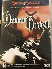Horror Hotel - region 4 DVD (1960 Christopher Lee horror movie) Free Post!