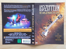 LED ZEPPELIN DVD: THE SONG REMAINS THE SAME