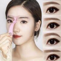 4 pcs Eyebrow Stencils Shaper Grooming Kit Brow MakeUp Template Tool Reusable