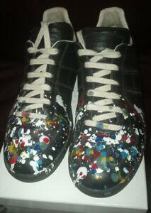 Maison Martin Margiela Artisanal Paint Splatter Sneakers Sz9