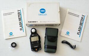 Minolta Flash Meter V! Brand new in box!