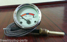 """Fordson / Ford Dexta Water Temperature Gauge 72"""" Capillary"""