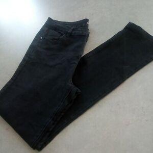Tu 14 Long Black Straight Jeans