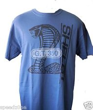 SHELBY GT 350 DENIM BLUE COLORED MENS SHIRT
