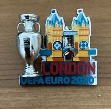 More details for official london uefa euro 2020 - pin badge - brand new