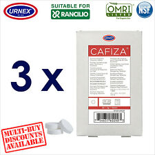 3 x Urnex 32 Cleaning Tablets Cleaner organic for Rancilio Coffee Machine