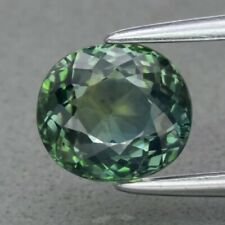 Blink! VS 1.66ct 6.8x6mm Oval Natural Unheated Bluish Green Sapphire, Australia