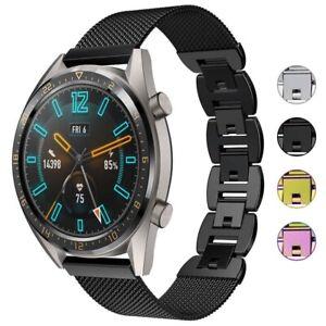 StrapsCo Metal Link & Mesh Watch Band Strap for Samsung Galaxy Watch 3 (45mm)