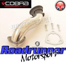 "Cobra Astra SRI MK5 de acero inoxidable de Cat Bajante De Escape Tubo de eliminación de 2.5"" 1st VX01f"