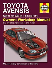 Reparaturanleitung Toyota Avensis 1998 - 2003