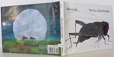 ERIC CARLE The Very Quiet Cricket SIGNED FIRST EDITION