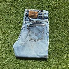 LEVIS 816 Womens High Waisted Mom Jeans 26 x 28 Light Wash | 90s Vintage