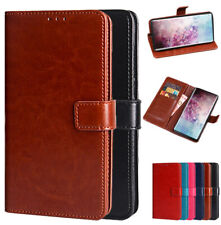 For Samsung Galaxy Note 10 / Note10+ Plus PU Leather Wallet Card Flip Stand Case