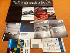2017 BMW M6 CONVERTIBLE OWNERS MANUAL SET +NAVI BK COMPETITION 560hp 600hp (NEW)