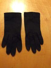 Vintage Black Gloves Small