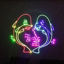 Animation Lasereffek Laser RGB DJ Disco DMX Show Party Licht Bühnenbeleuchtung