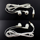 White 3.5mm Inear Earbud Earphone for MP3 MP4 PDA PSP Players Headphone Headset