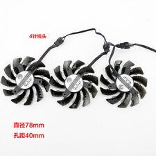 For Gigabyte GTX580ti 980ti 1070ti 1080ti 970 960 1060  Graphics Card Fan 78mm