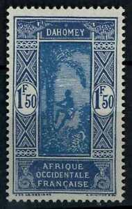 Dahomey 1922 SG#93, 1f50 Climbing Palm Tree MH #E82420