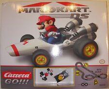 Carrera Go Mario Kart Ds Mario B Dasher Wario Brute pista Car Set (ca62038) Nuevo En Caja