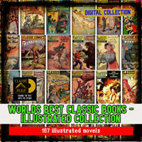 Worlds Best Classic Books!, Illustrated in quick read comic form - study up!