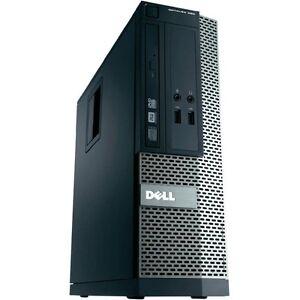 FAST Dell Optiplex 390 SFF  4GB RAM 250GB HDD WINDOWS 10 WIFI DVD HDMI