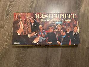 Vintage Masterpiece The Art Auction Game 1970 Parker NEAR COMPLETE Contents VGC