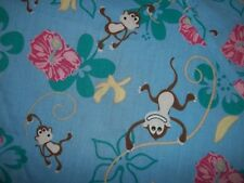 "SCRUB TOP ""MONKEY'S""  SIZE 1 X ( 16-18)  CARROL'S SCUBS""  FREE SHIPPING"
