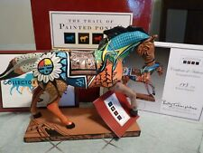 Trail of Painted Ponies INDIAN SUMMER  NATIVE PONY 1E/1572 ARTIST SIGNED 143/250