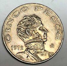 # C4390     MEXICO    COIN,     5  PESOS   1972