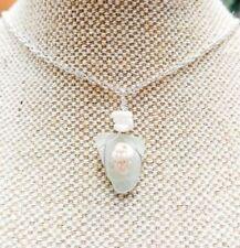 Natural Glass Alloy Fashion Necklaces & Pendants