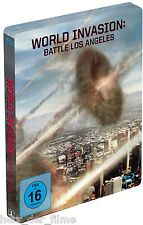 WORLD INVASION: BATTLE LOS ANGELES (Blu-ray Disc, Steelbook) NEU+OVP