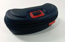 Black Liberty Sport Eyeglass Sunglass Case Soft Shell Zip