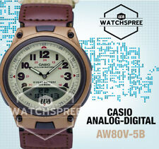 Casio Analog Digital Watch AW80V-5B