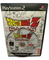 Dragonball Z Sagas Sony PS2 CIB with Game Manual PlayStation 2 Atari