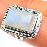 Large Rainbow Moonstone 925 Sterling Silver Ring Size 8 Ana Co Jewelry R44115F
